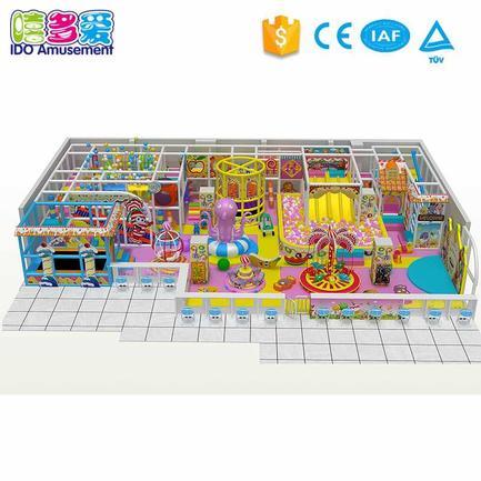 Candy Theme Children Soft Indoor Playground Equipment