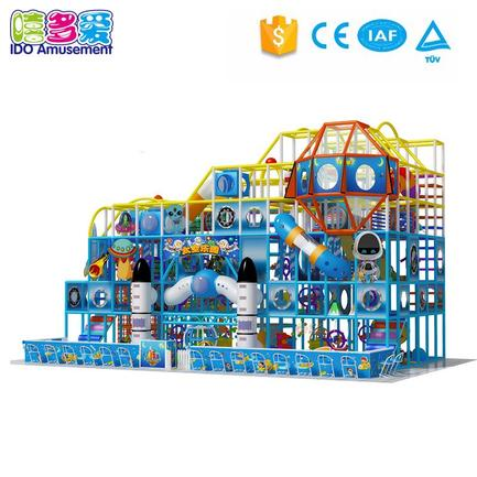 Space Theme Soft Play Structure Kids Indoor Playground