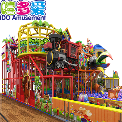 commercial safe mcdonalds kids naughty castle indoor playground