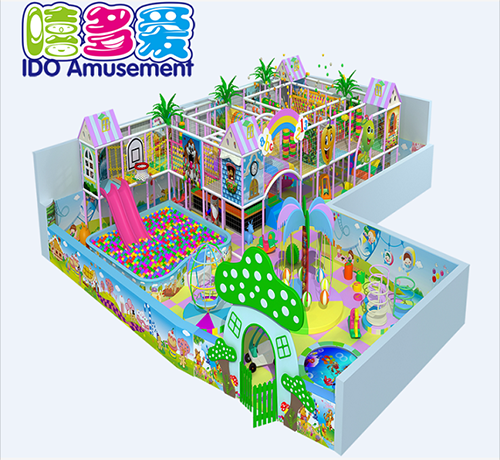 commercial safe mcdonalds kid naughty castle indoor playground