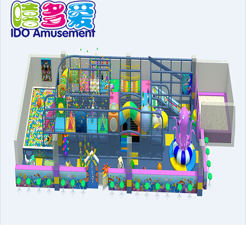 commercial safe small kid soft play equipment indoor playground